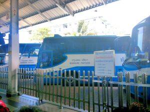 Bus Bangkok ke Pattaya, Transportasi dari Bangkok ke pattaya