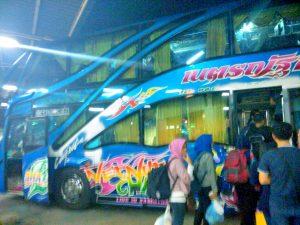 Bus Bangkok ke hatyai