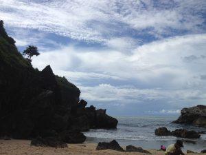 Pantai Wohkudu Pantai Tersembunyi Di Yogyakarta Hallokemux