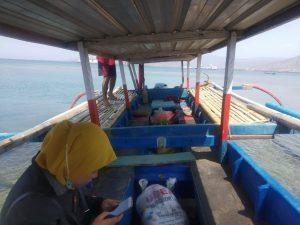 Sewa Kapal Nelayan Pulau Kenawa